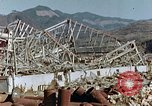 Image of steel frame structure Nagasaki Japan, 1946, second 8 stock footage video 65675042181