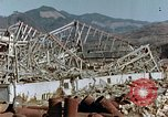 Image of steel frame structure Nagasaki Japan, 1946, second 10 stock footage video 65675042181