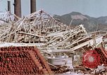 Image of steel frame structure Nagasaki Japan, 1946, second 28 stock footage video 65675042181