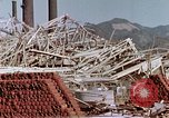 Image of steel frame structure Nagasaki Japan, 1946, second 32 stock footage video 65675042181