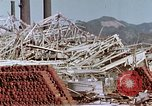 Image of steel frame structure Nagasaki Japan, 1946, second 33 stock footage video 65675042181