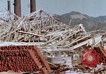 Image of steel frame structure Nagasaki Japan, 1946, second 34 stock footage video 65675042181