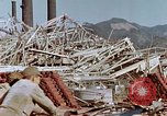 Image of steel frame structure Nagasaki Japan, 1946, second 35 stock footage video 65675042181