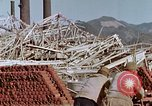 Image of steel frame structure Nagasaki Japan, 1946, second 37 stock footage video 65675042181