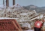 Image of steel frame structure Nagasaki Japan, 1946, second 38 stock footage video 65675042181