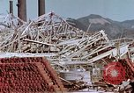 Image of steel frame structure Nagasaki Japan, 1946, second 39 stock footage video 65675042181