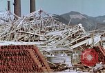 Image of steel frame structure Nagasaki Japan, 1946, second 42 stock footage video 65675042181