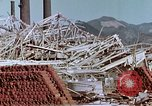 Image of steel frame structure Nagasaki Japan, 1946, second 43 stock footage video 65675042181