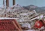Image of steel frame structure Nagasaki Japan, 1946, second 44 stock footage video 65675042181
