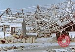 Image of steel frame structure Nagasaki Japan, 1946, second 47 stock footage video 65675042181