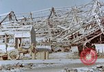Image of steel frame structure Nagasaki Japan, 1946, second 48 stock footage video 65675042181
