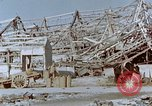 Image of steel frame structure Nagasaki Japan, 1946, second 49 stock footage video 65675042181