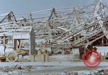 Image of steel frame structure Nagasaki Japan, 1946, second 51 stock footage video 65675042181
