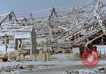 Image of steel frame structure Nagasaki Japan, 1946, second 52 stock footage video 65675042181