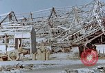 Image of steel frame structure Nagasaki Japan, 1946, second 53 stock footage video 65675042181