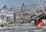 Image of steel frame structure Nagasaki Japan, 1946, second 54 stock footage video 65675042181