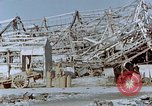 Image of steel frame structure Nagasaki Japan, 1946, second 55 stock footage video 65675042181