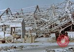 Image of steel frame structure Nagasaki Japan, 1946, second 56 stock footage video 65675042181