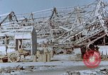 Image of steel frame structure Nagasaki Japan, 1946, second 57 stock footage video 65675042181