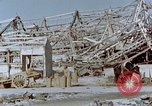 Image of steel frame structure Nagasaki Japan, 1946, second 58 stock footage video 65675042181