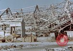 Image of steel frame structure Nagasaki Japan, 1946, second 59 stock footage video 65675042181