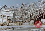 Image of steel frame structure Nagasaki Japan, 1946, second 60 stock footage video 65675042181