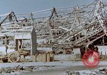 Image of steel frame structure Nagasaki Japan, 1946, second 61 stock footage video 65675042181