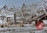 Image of steel frame structure Nagasaki Japan, 1946, second 62 stock footage video 65675042181