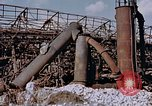 Image of collapsed metal stack Nagasaki Japan, 1946, second 3 stock footage video 65675042187