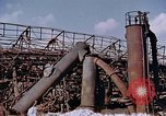 Image of collapsed metal stack Nagasaki Japan, 1946, second 7 stock footage video 65675042187