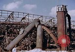 Image of collapsed metal stack Nagasaki Japan, 1946, second 20 stock footage video 65675042187