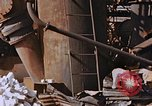 Image of collapsed metal stack Nagasaki Japan, 1946, second 22 stock footage video 65675042187