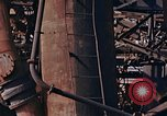 Image of collapsed metal stack Nagasaki Japan, 1946, second 27 stock footage video 65675042187