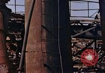 Image of collapsed metal stack Nagasaki Japan, 1946, second 30 stock footage video 65675042187