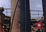 Image of collapsed metal stack Nagasaki Japan, 1946, second 32 stock footage video 65675042187