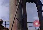 Image of collapsed metal stack Nagasaki Japan, 1946, second 35 stock footage video 65675042187