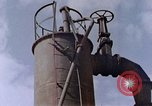 Image of collapsed metal stack Nagasaki Japan, 1946, second 42 stock footage video 65675042187