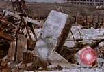 Image of collapsed metal stack Nagasaki Japan, 1946, second 43 stock footage video 65675042187