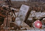 Image of collapsed metal stack Nagasaki Japan, 1946, second 44 stock footage video 65675042187