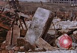 Image of collapsed metal stack Nagasaki Japan, 1946, second 45 stock footage video 65675042187