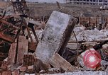 Image of collapsed metal stack Nagasaki Japan, 1946, second 46 stock footage video 65675042187