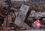 Image of collapsed metal stack Nagasaki Japan, 1946, second 48 stock footage video 65675042187