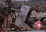 Image of collapsed metal stack Nagasaki Japan, 1946, second 49 stock footage video 65675042187