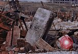 Image of collapsed metal stack Nagasaki Japan, 1946, second 50 stock footage video 65675042187