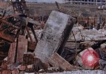 Image of collapsed metal stack Nagasaki Japan, 1946, second 51 stock footage video 65675042187
