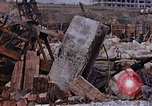 Image of collapsed metal stack Nagasaki Japan, 1946, second 53 stock footage video 65675042187