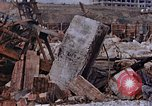 Image of collapsed metal stack Nagasaki Japan, 1946, second 54 stock footage video 65675042187