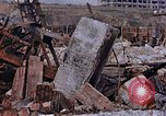 Image of collapsed metal stack Nagasaki Japan, 1946, second 55 stock footage video 65675042187