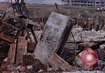 Image of collapsed metal stack Nagasaki Japan, 1946, second 57 stock footage video 65675042187