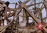 Image of collapsed metal stack Nagasaki Japan, 1946, second 60 stock footage video 65675042187